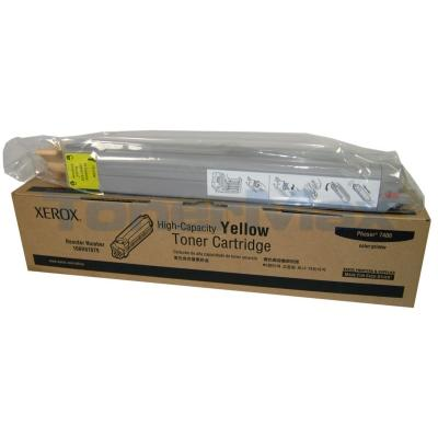XEROX PHASER 7400 TONER CART YELLOW 18K